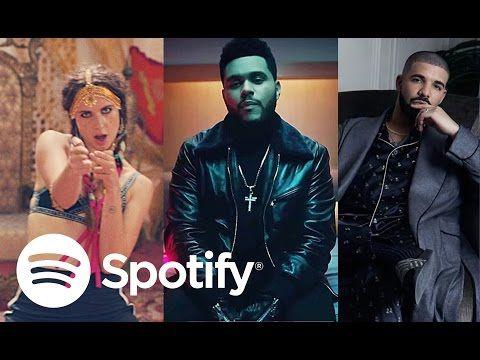 Top 50 Las Canciones Más Escuchadas En Spotify Youtube Canciones Famosos Escuchar