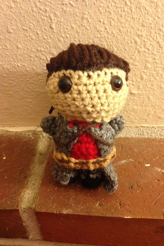Red Heart Amigurumi Yarn-hamburger Crochet Pattern 2 Figures for ... | 855x570