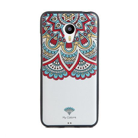 For Meizu m3 mini case, 3D Relief painting soft Silicon back cover case for Meizu m3s mini 5.0""