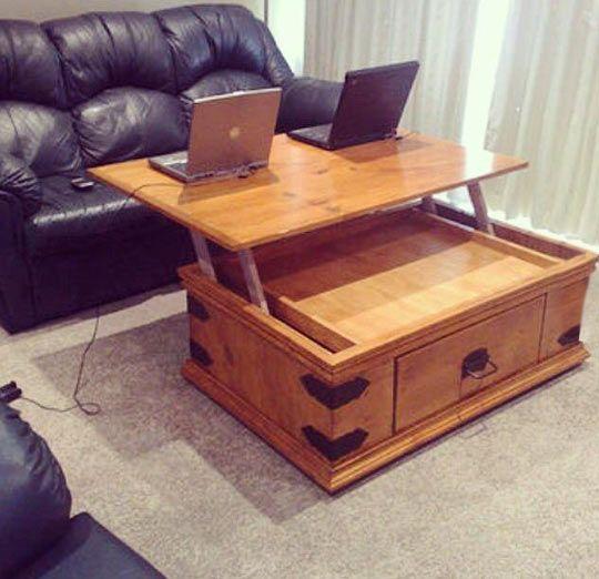 Love The Idea Coffee Table Diy Furniture Decor