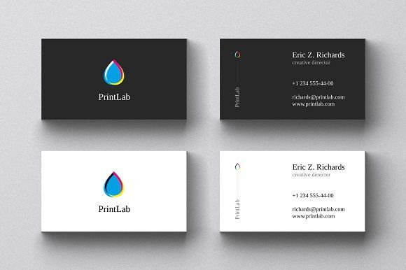 Business Card Template By Le Genda On Creativemarket
