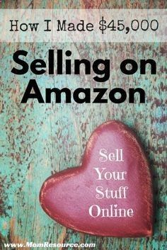 Resale Ideas Make Money How to Sell on Amazon: make money from home as an Amazon seller. In 2014 during my pregnancy I was able to make money online and make money from home, allowing me to remain a stay at home mom to my newborn baby girl! Find out how you can sell your stuff online & make money online with Amazon: www.momresource.c... This is your chance to grab 100 great products WITH Master Resale Rights for mere pennies on the dollar!