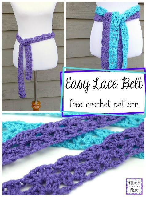 Easy Lace Belt Free Crochet Pattern Video Crochet Belt