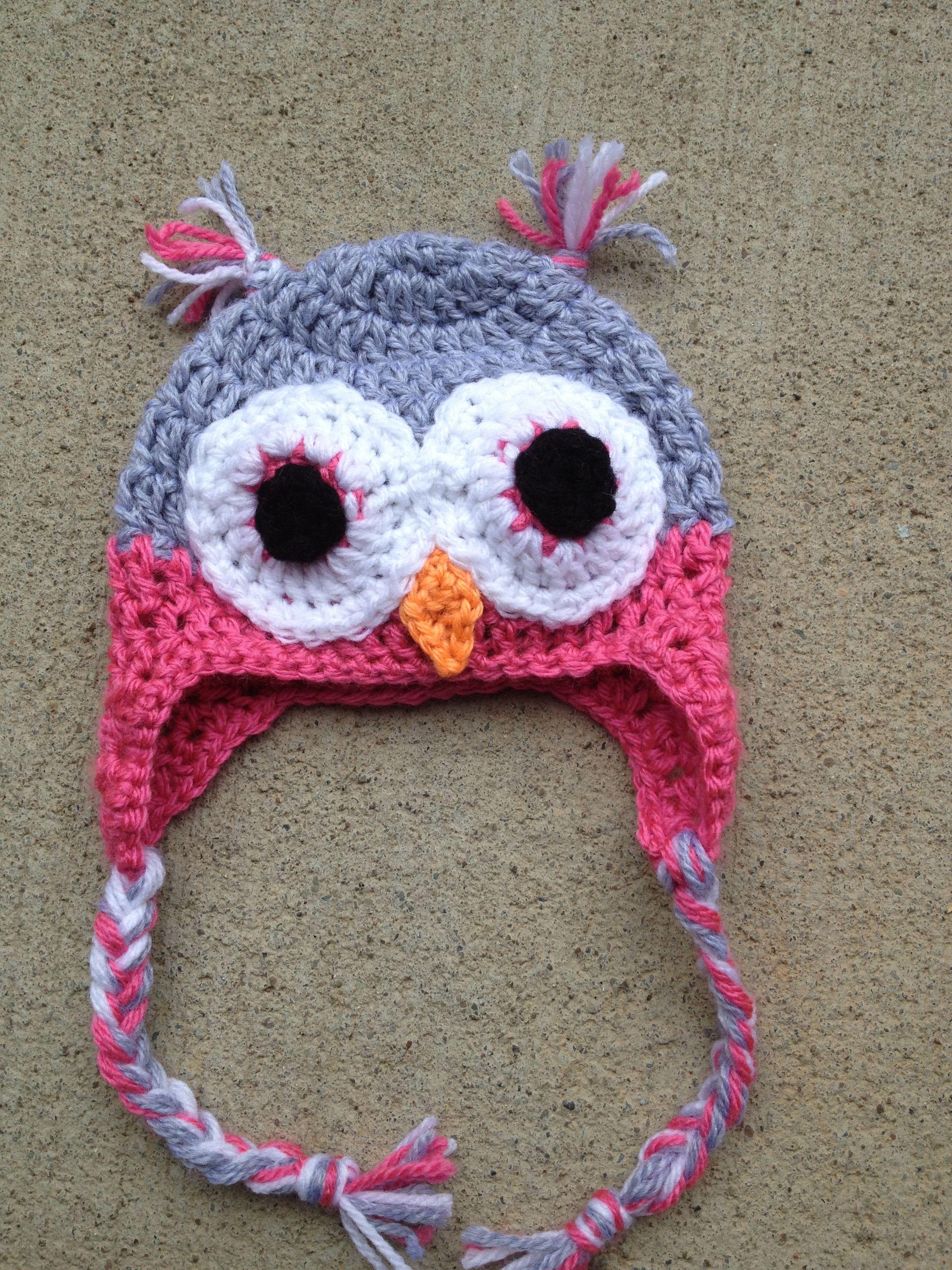 Owl baby hat free crochet pattern here httpwww owl baby hat free crochet pattern here httprepeatcrafterme bankloansurffo Choice Image