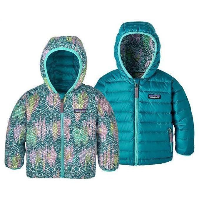 b79687911c68 Patagonia Baby Reversible Down Sweater Hoody