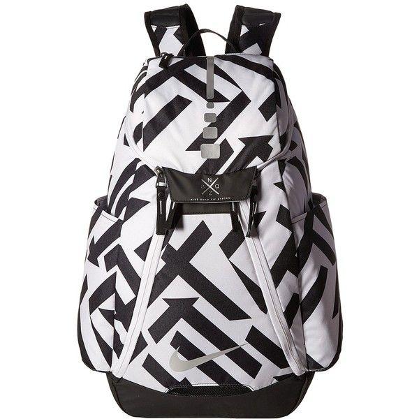 nike air backpack white