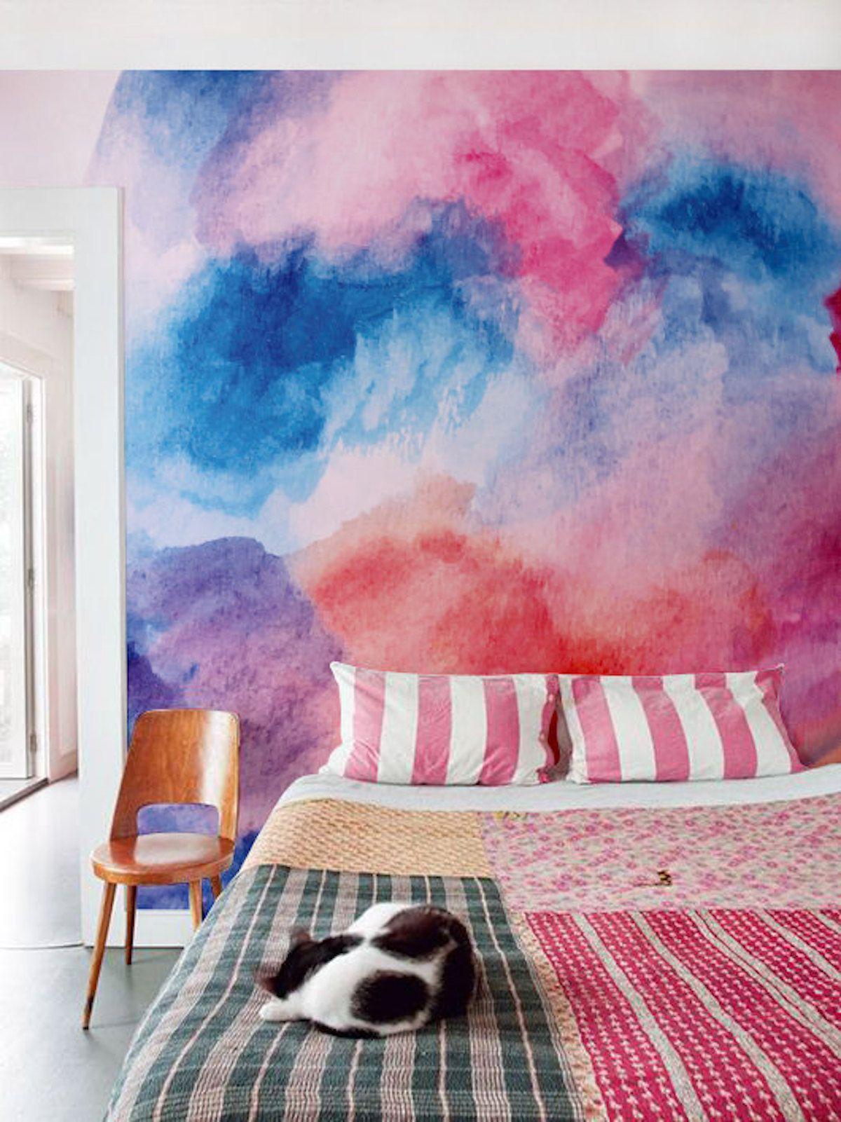 Watercolor In The Nursery Bedroom Murals Wall Decals For