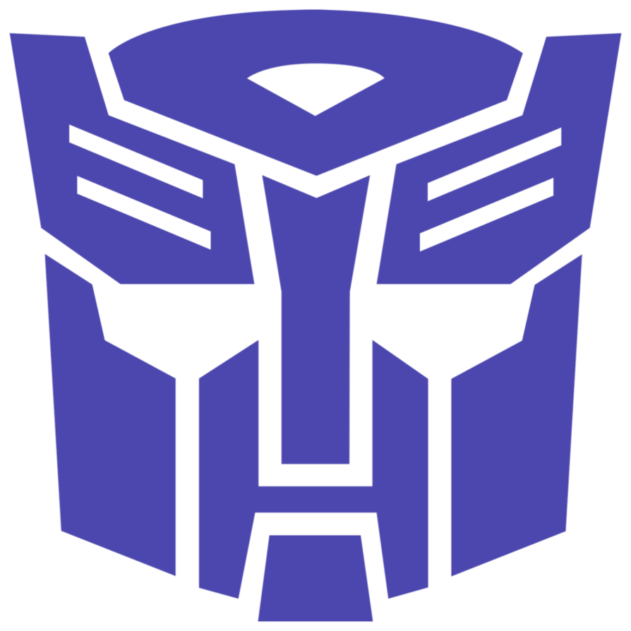 transformers shattered glass autobots symbol by mr droy
