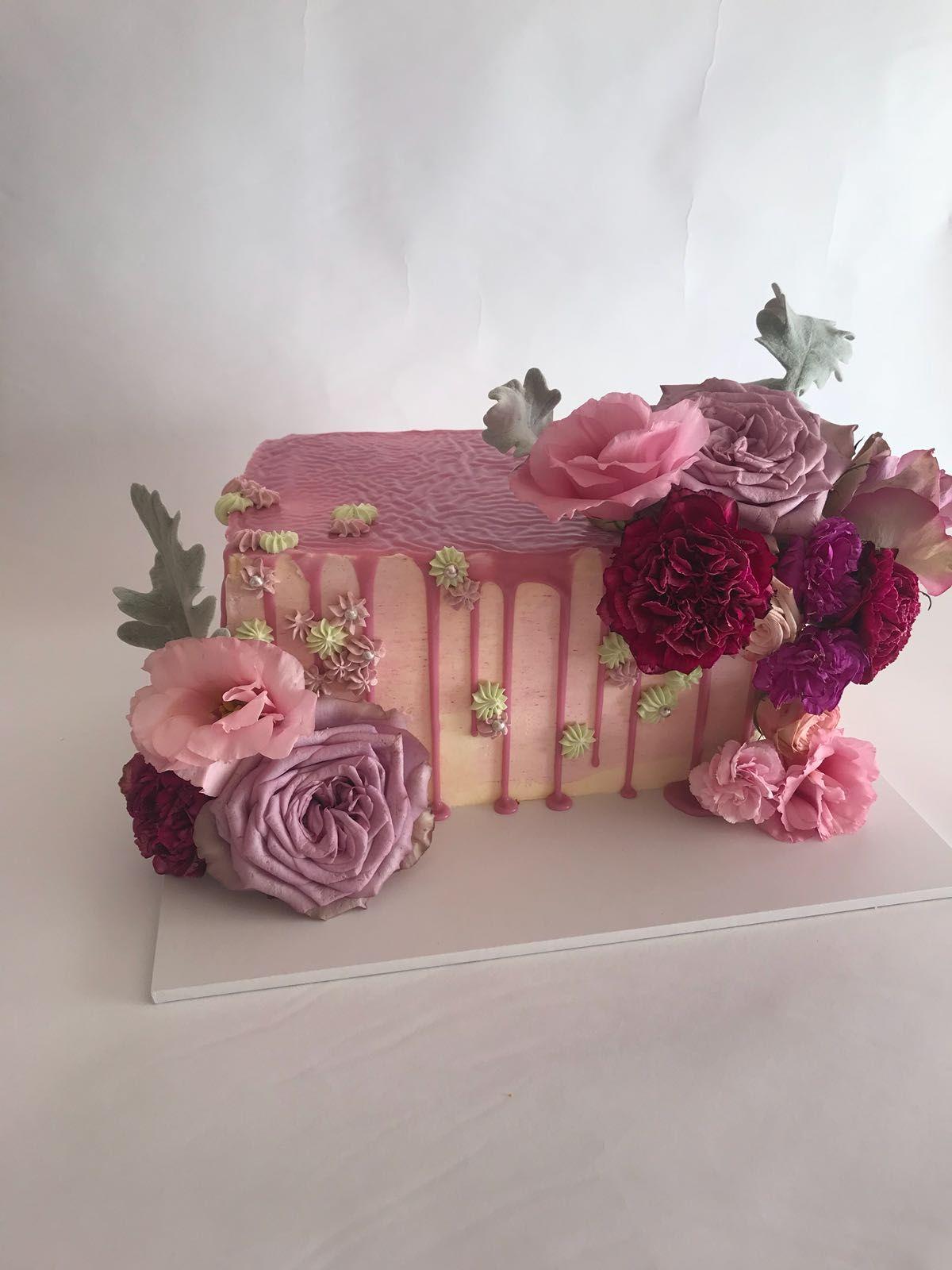 Rectangle Cake | Easy cake decorating, Ice cream cake