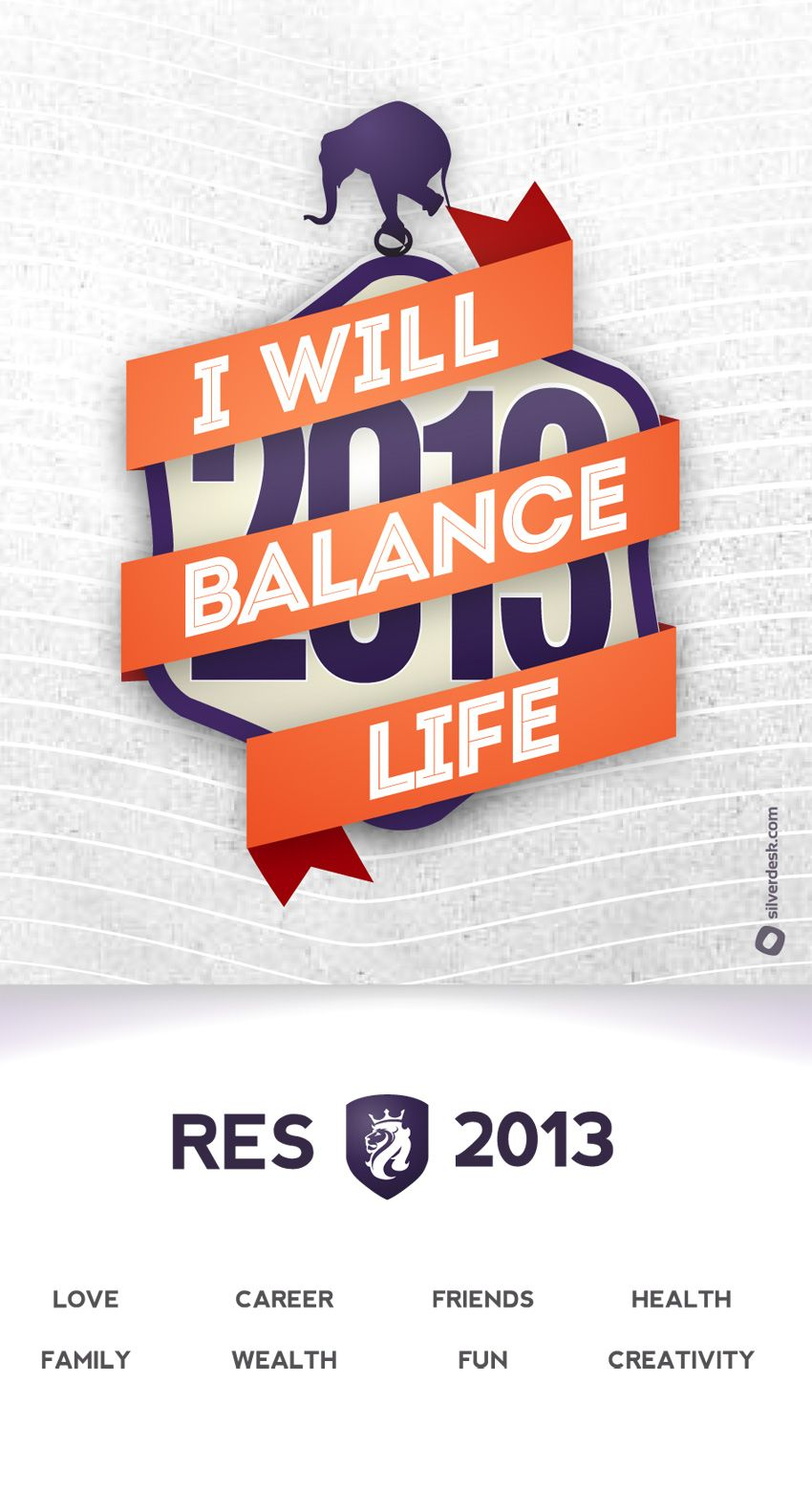 2013 Resolutions @silverdesk