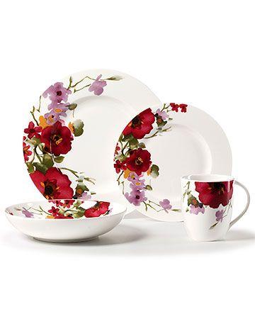 Dinnerware - Garden Palette Bouquet - Ross Simons  sc 1 st  Pinterest & Dinnerware - Garden Palette Bouquet - Ross Simons | Pinturas5 sobre ...