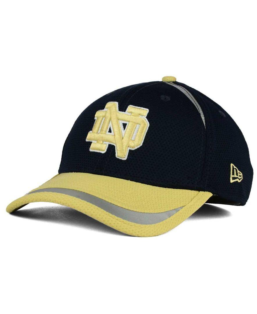 New Era Notre Dame Fighting Irish Stripe Stretch 39THIRTY Cap