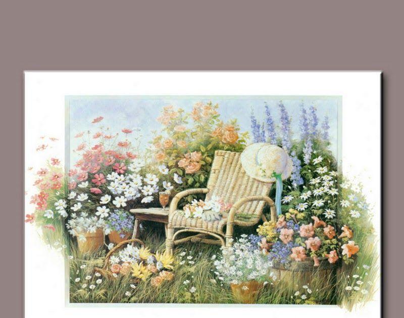 Sketsa Bunga Lukisan Taman Bunga Yang Indah 90 Lukisan Dan Gambar Pemandangan Alam Yang Indah Menakjubkan Pretty Pictures Coloring Pages For Kids Painting