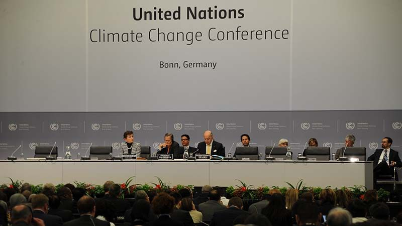 A final round of meetings between senior diplomats has started in Bonn, Germany regarding climate and associated controls.