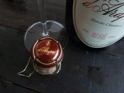#brut #rosè #spumante #dAraprì #metodoclassico
