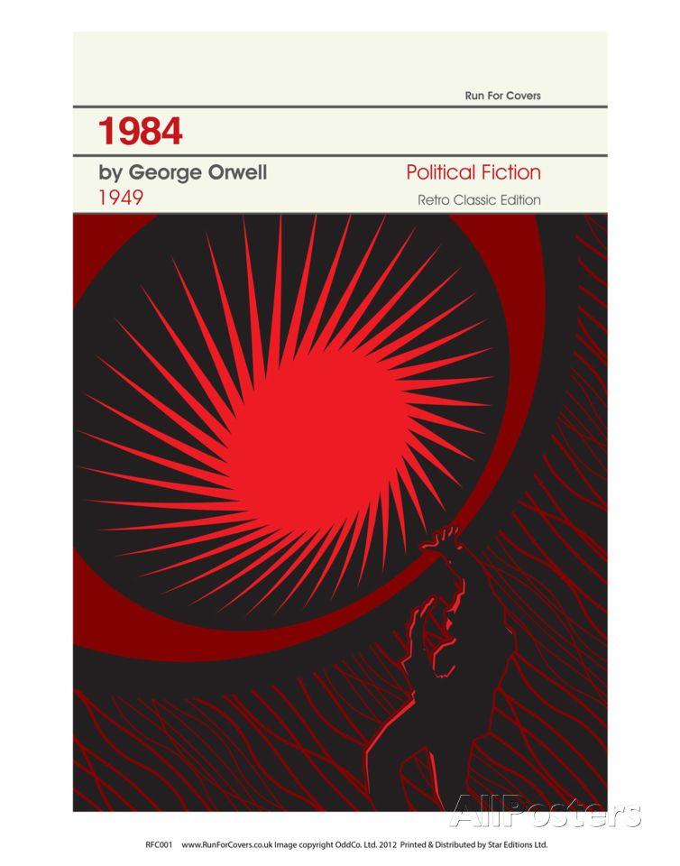 1984 Poster Art prints, Book cover art, Art