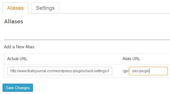 Create link mask, alias in SEO Ultimate WordPress plugin