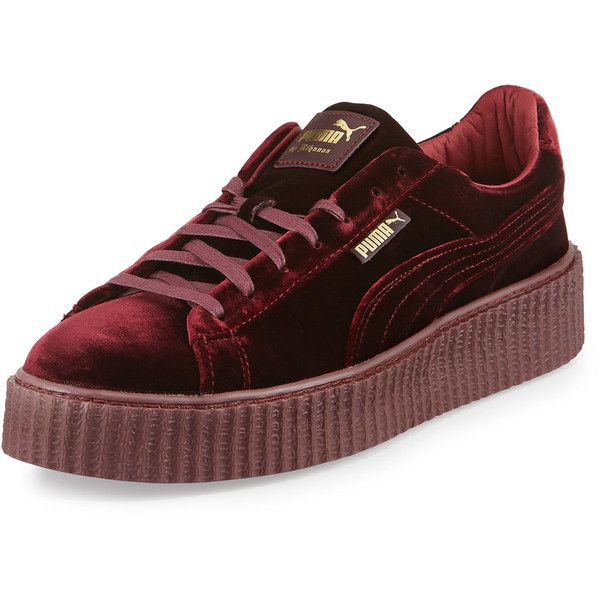 80a5cf99749 Fenty Puma By Rihanna Men s Velvet Creeper Sneakers ( 150) ❤ liked on  Polyvore featuring men s fashion
