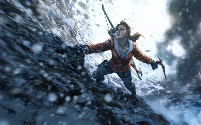Rise Of The Tomb Raider Wallpaper 4k 8k Tomb Raider Game Tomb
