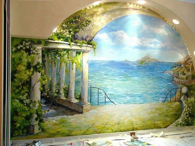 Морские стена своими руками фото 729