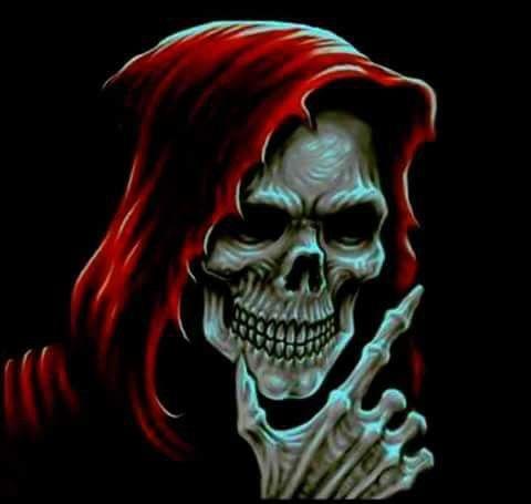 Pin By Clara Vinas On Skulls Grim Reaper Art Skull Wallpaper Skull Art