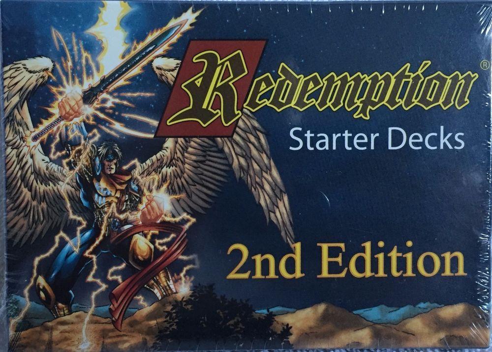 Redemption Starter Decks 2nd Edition Bible Card Game New