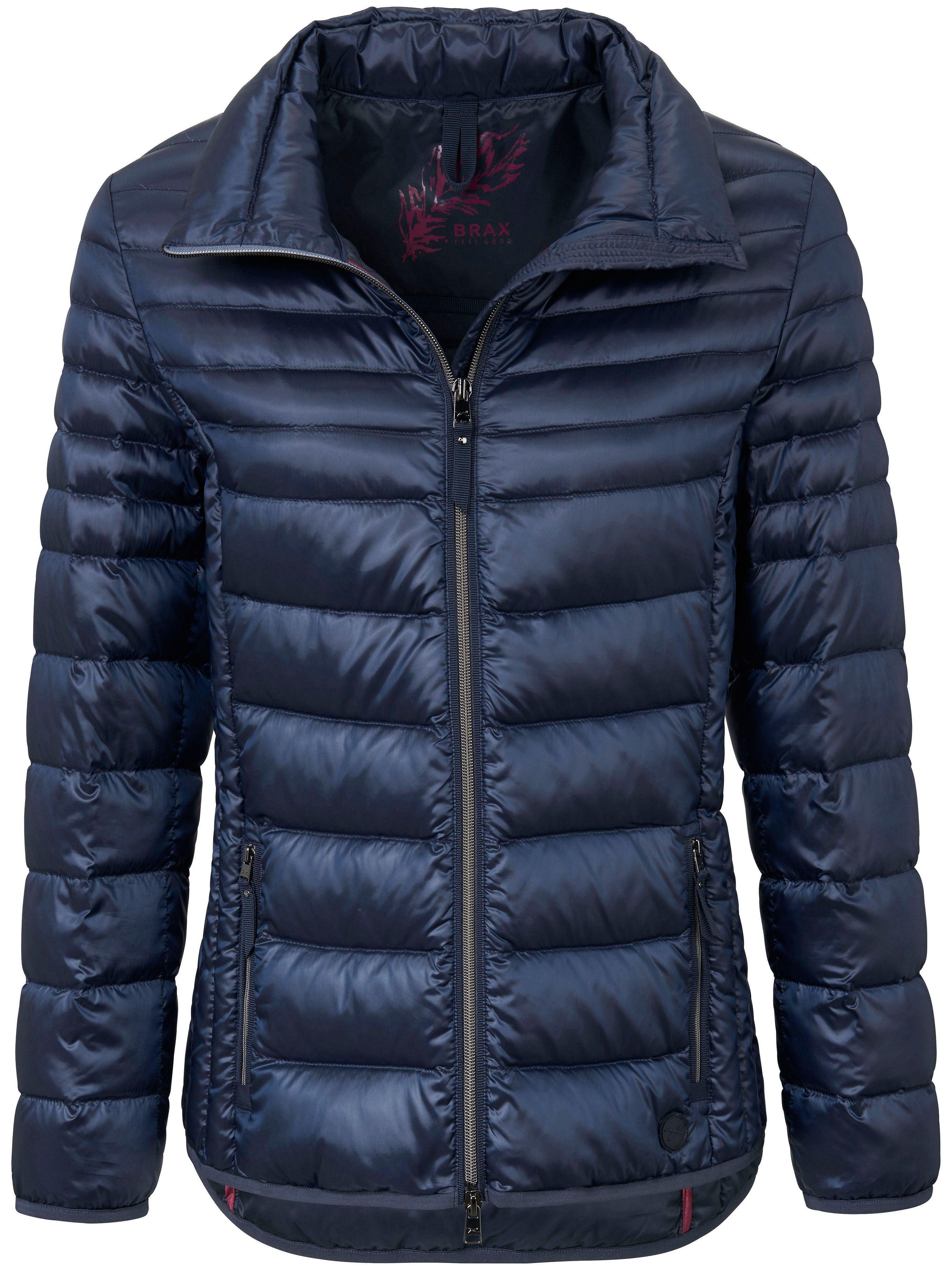 La veste doudoune légère col montant Brax Feel Good bleu taille 46 ... f24cdd9b00d4