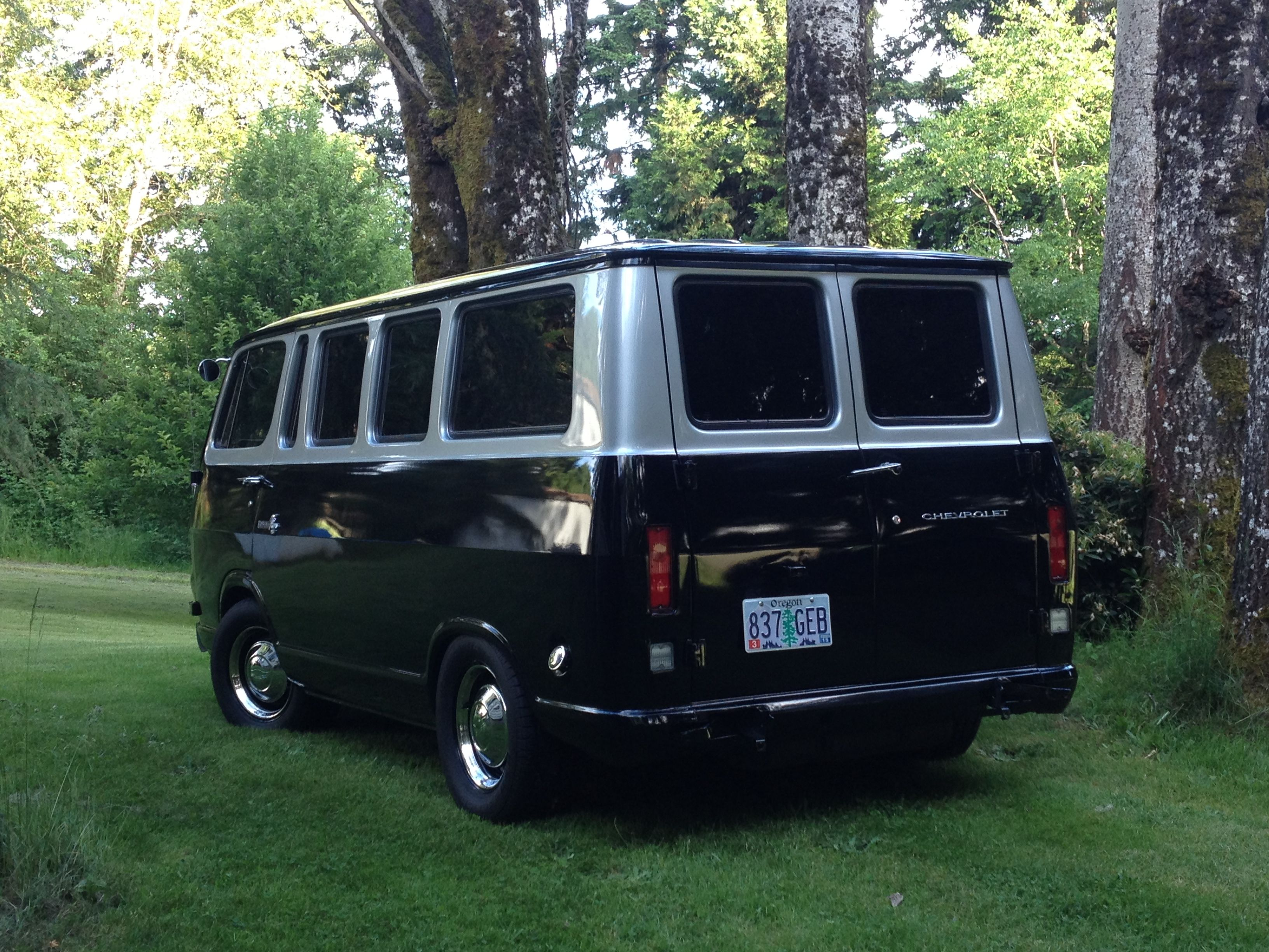 Vintage 67 Chevy van | Vans for Cam | Pinterest | Chevy vans, Vans ...