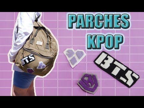 DIY FÁCIL: Parches KPOP | Pinku & Blaqui - YouTube