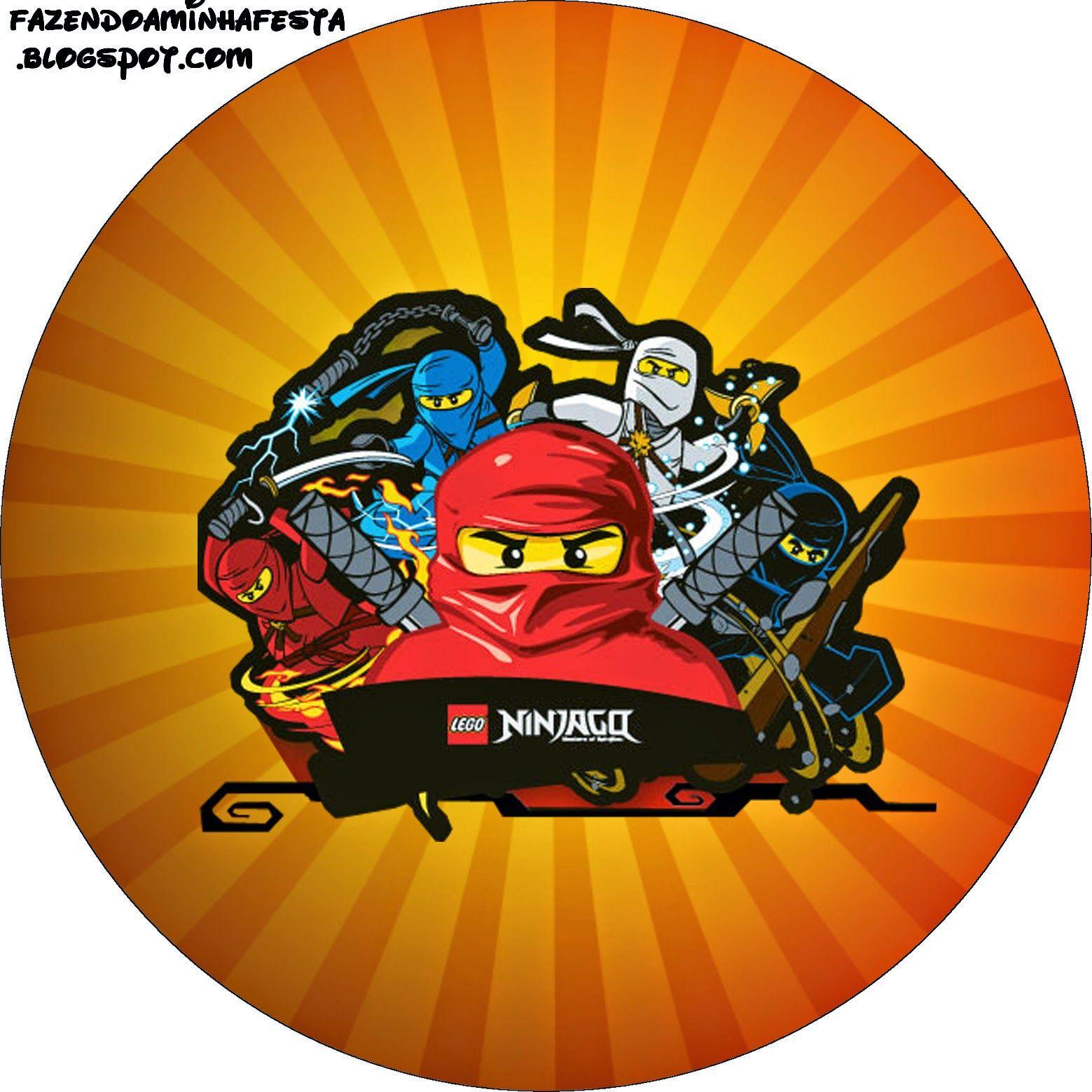 Ninjago: Etiquetas para Candy Bar para Imprimir Gratis.   Happy Bday ...