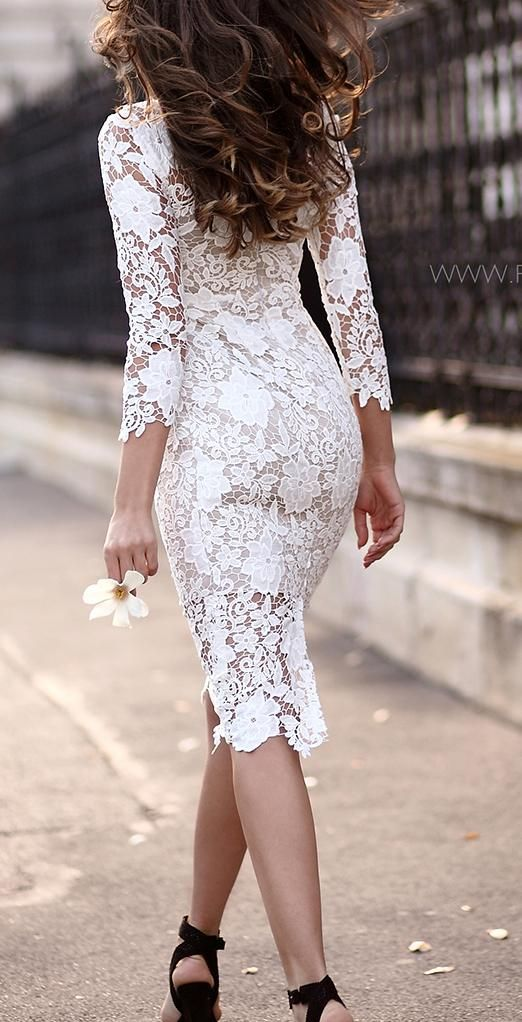 Shein White Costume Lace