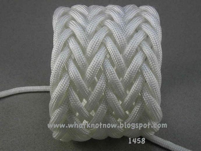 Wide Triple Weave Paracord Rope Bracelet Herringbone Pattern