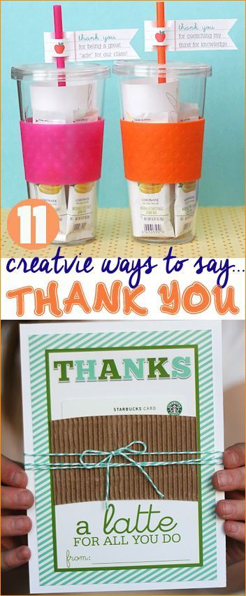 Creative Ways To Say Thank You