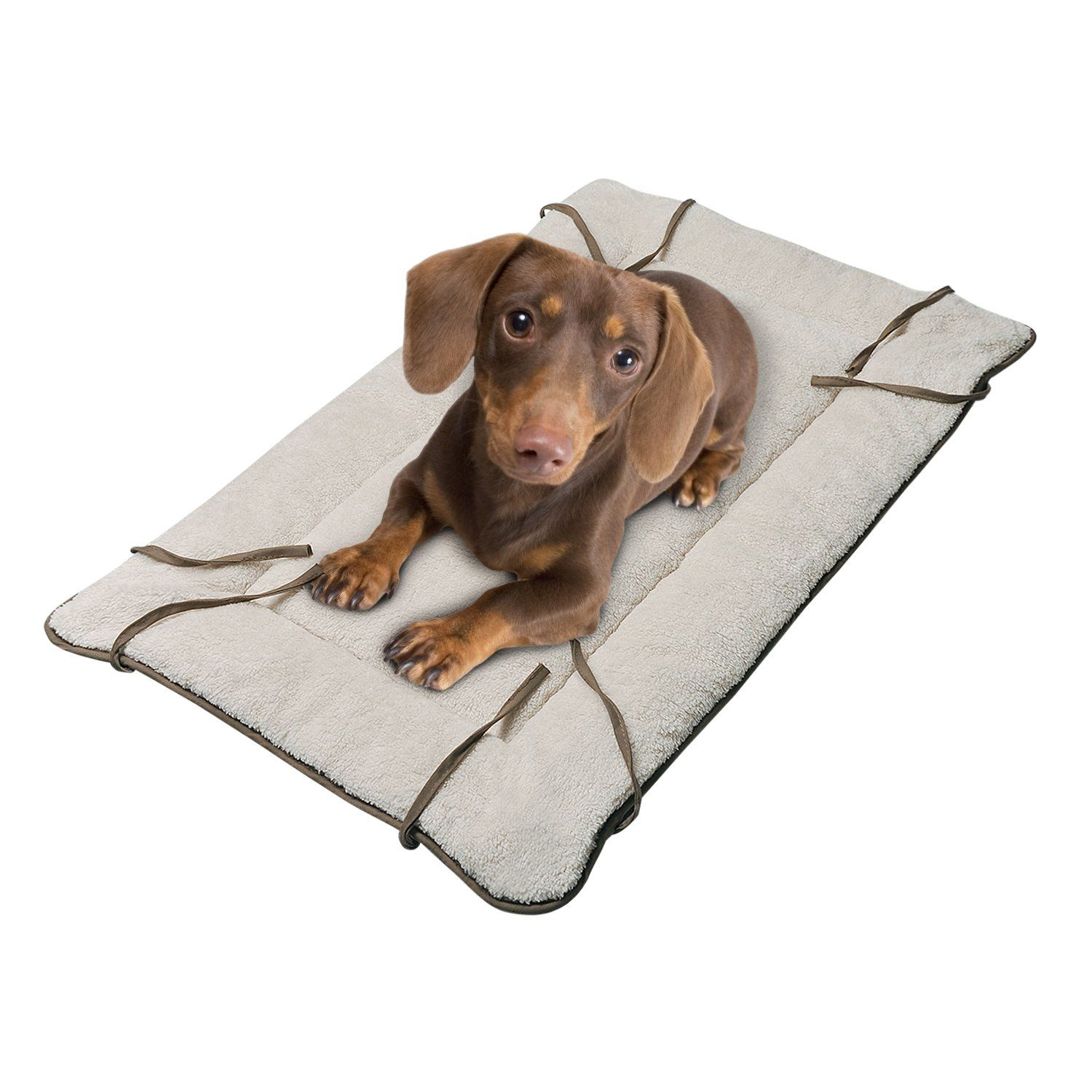 Dog Cuddler Bedwashable Crate Pad Mat Blanketsoft Plush Thick Pet