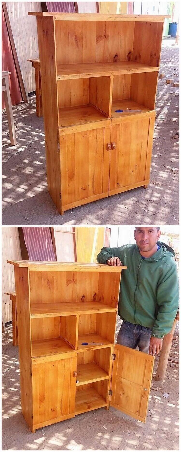 Five Star Diy Wooden Pallets Hutch Ideas | Pallet ...