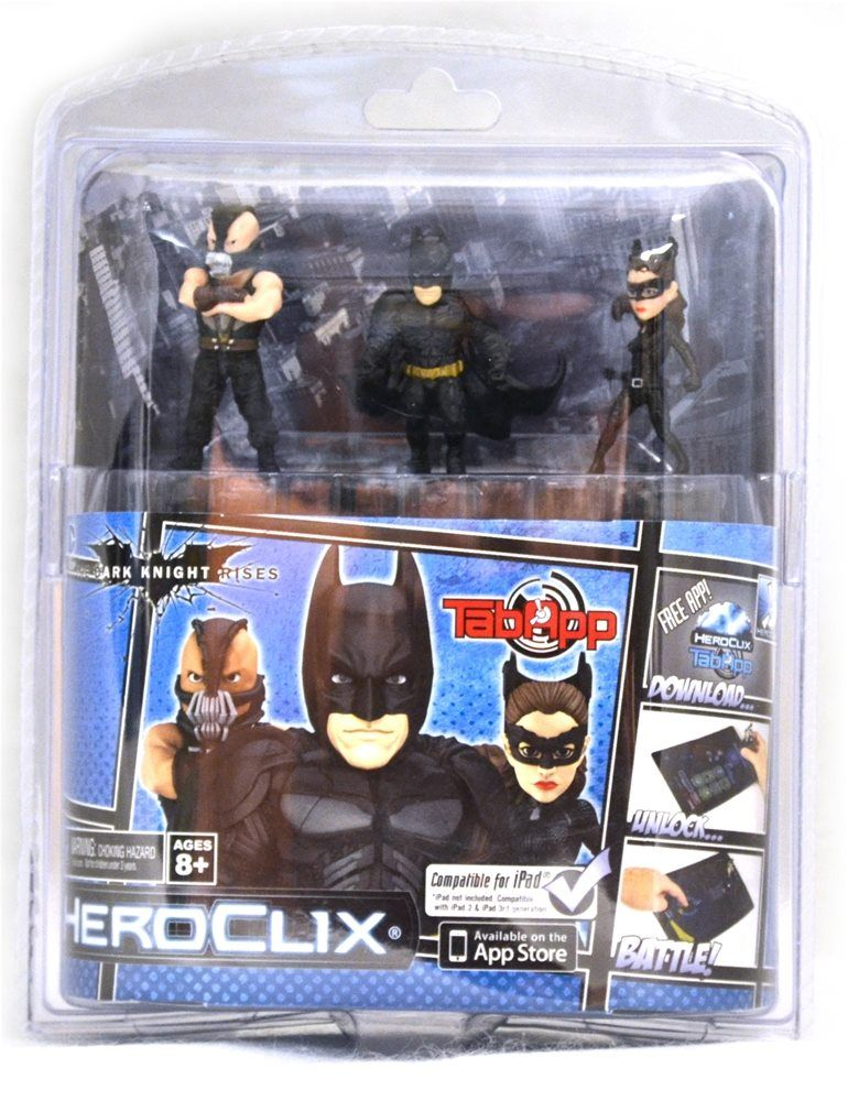 The Dark Knight Rises HeroClix Set Halloween Decorations 2018 - halloween club decorations