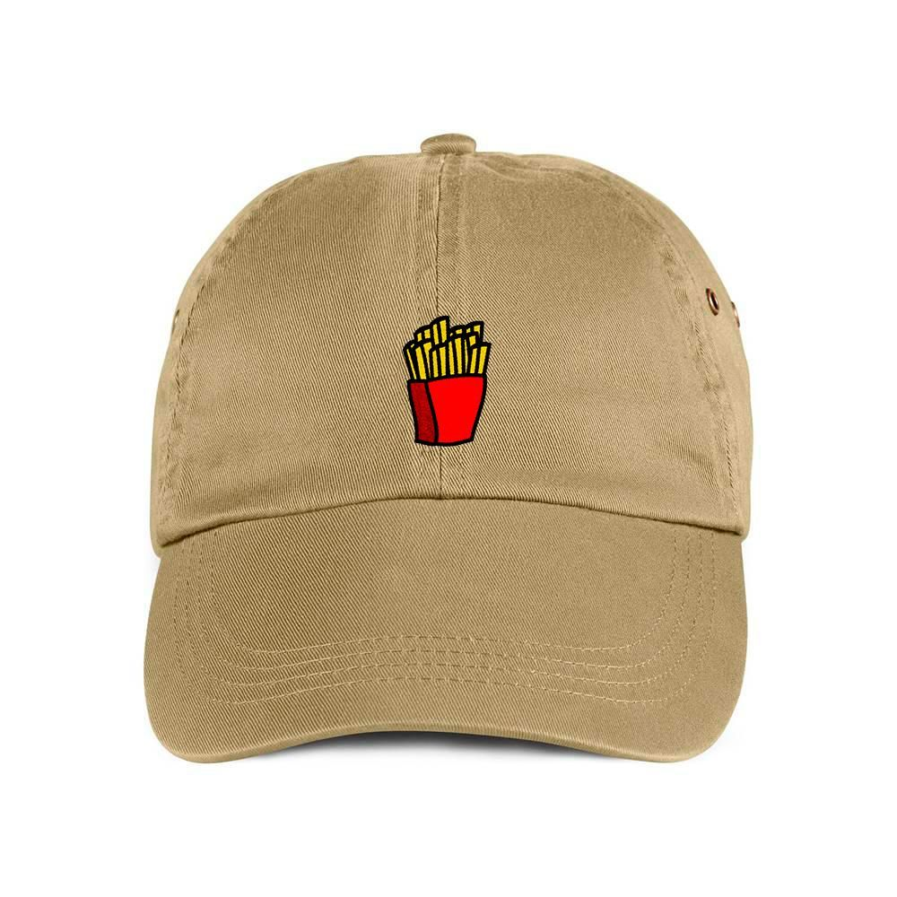49c169a1b9c French Fries Dad Hat Baseball Cap. Khaki. Do you love chowing down fast food