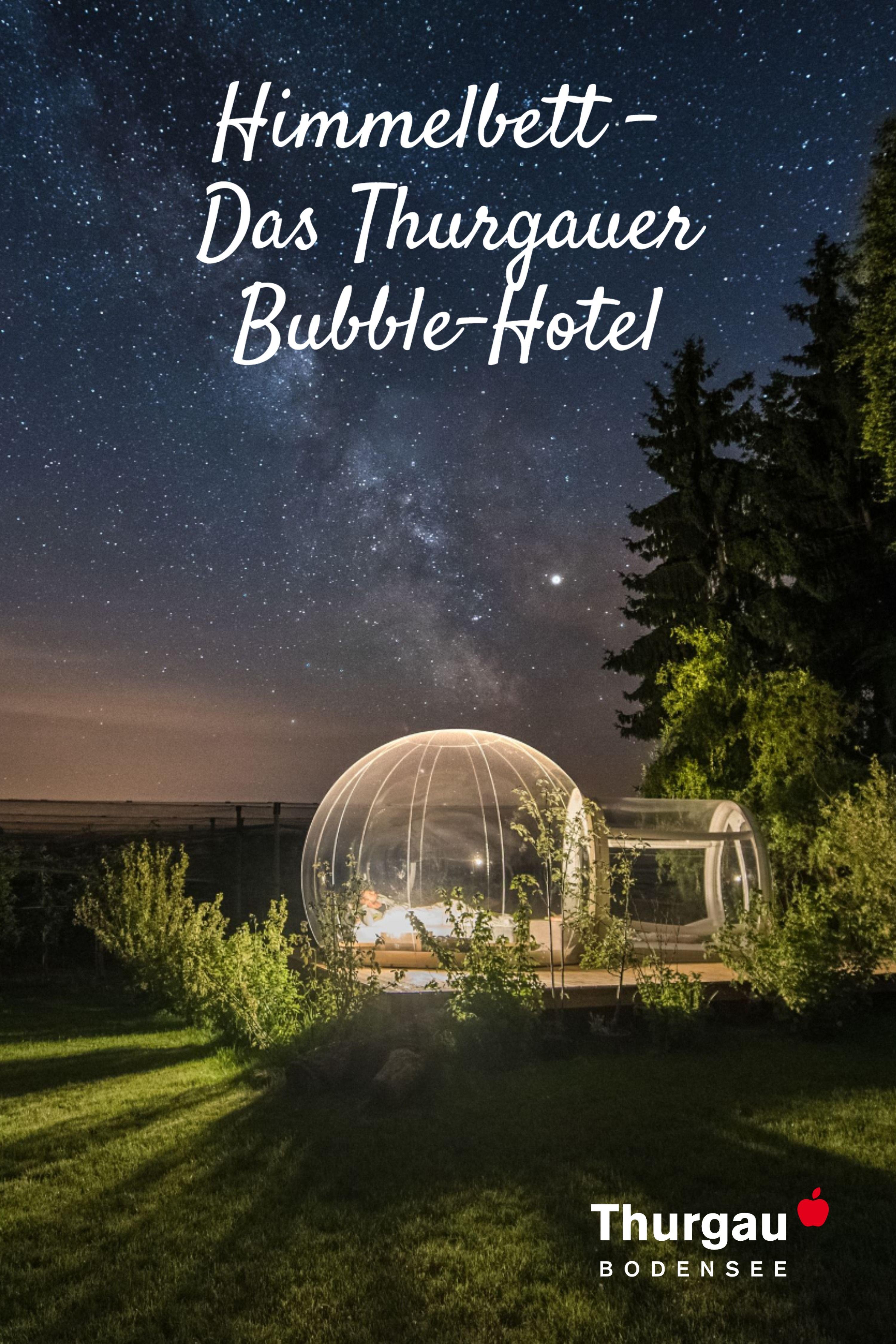 Thurgauer Bubble Hotel In 2020 Tourismus Reisen Hotel