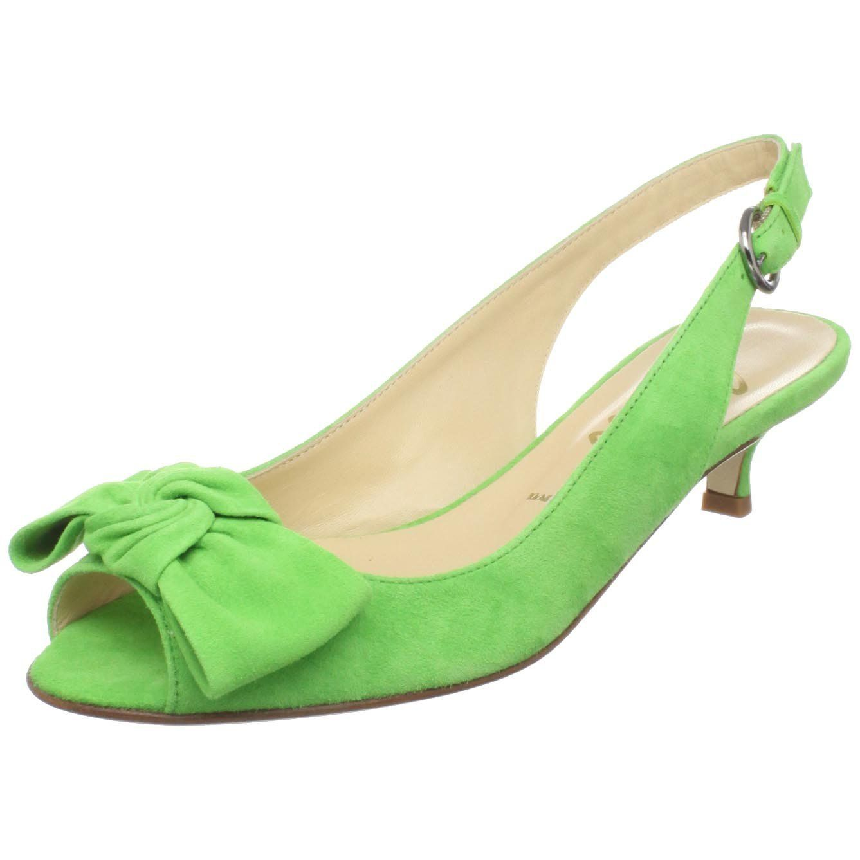 Butter Women S Salvatore Peep Toe Kitten Heel Designer Shoes Handbags Jewel Kitten Heels Heels Kitten Heel Shoes