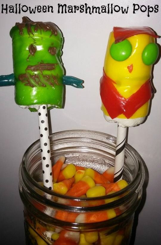 Halloween Marshmallow Pops Mom S Madhouse With Images