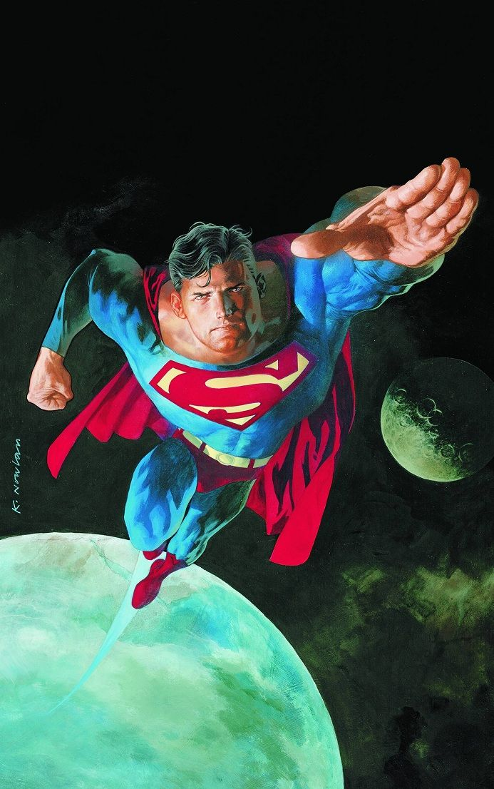 Superman: Sole Survivor #1 Cover Art by Kevin Nowlan