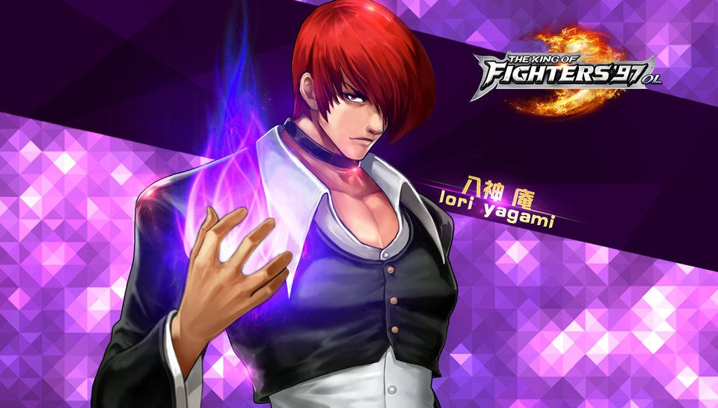 Iori Yagami Kof97 Ol Hd Wallpaper By Zeref Ftx On