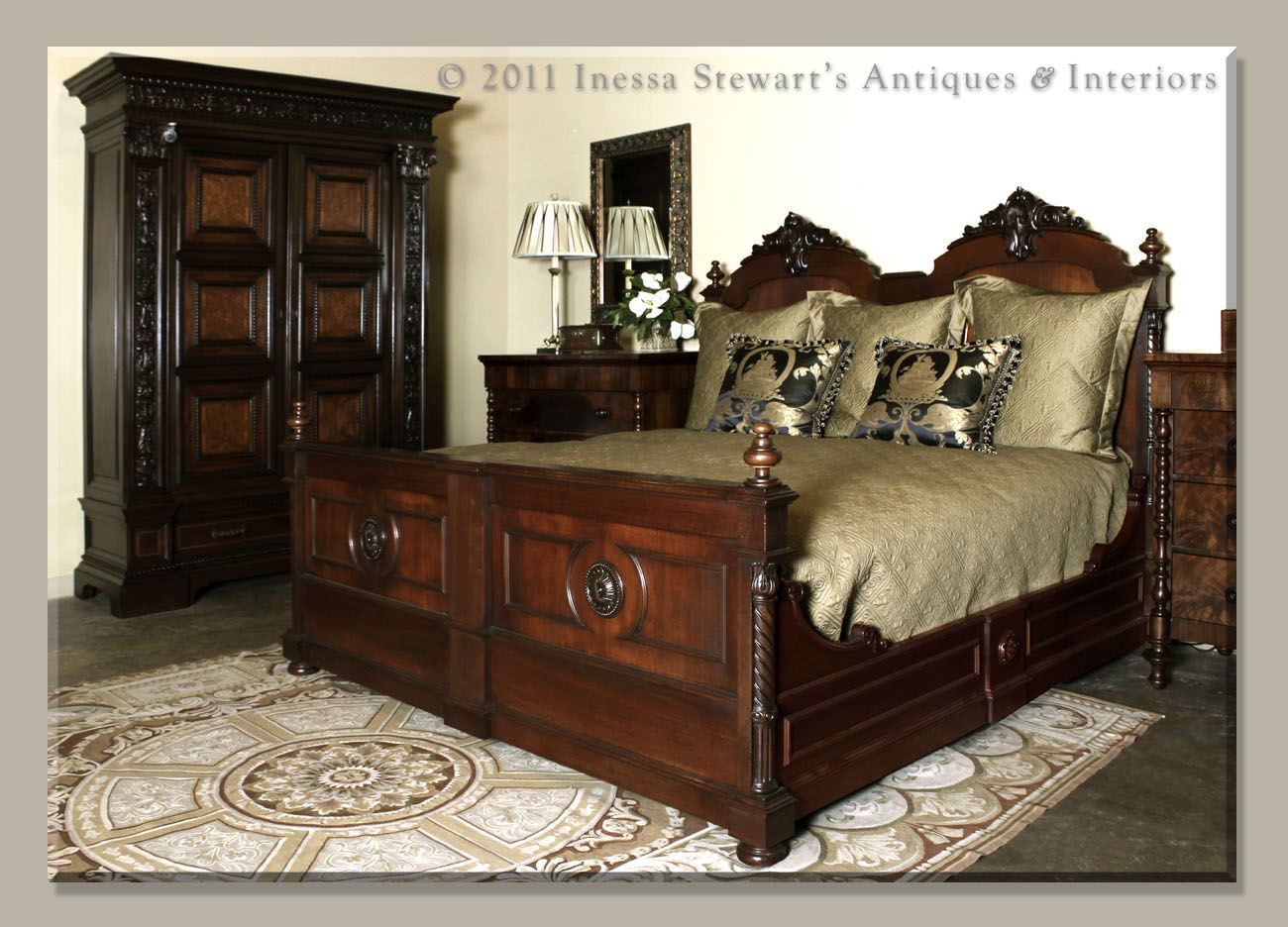 outside painted antique long inside french max beds rails of hares antiques bed sales bdw w