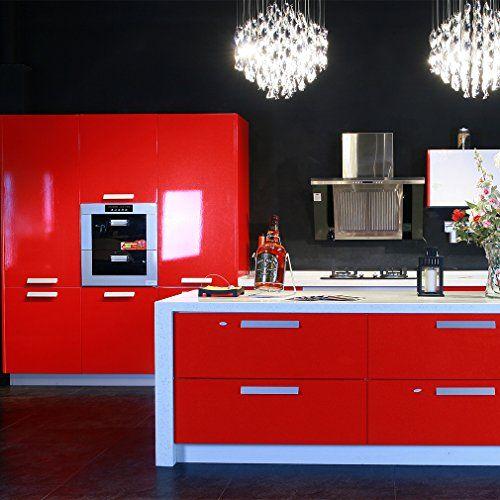 Hot ARUHE® Mueble de Cocina de Primera Calidad Engomada del PVC Auto ...
