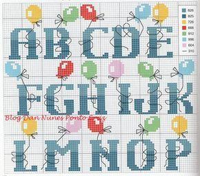 alfabeto + globos
