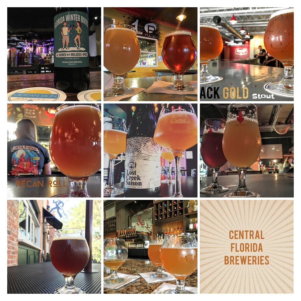 Did you know there are over 20 breweries in Central Florida & more than a dozen in the works? Crazy how far we've come in a few years! I've been to them all and have blog posts on most of them. I have a map of the breweries tooGo out & explore #centralflorida for #craftbeer The updated page is #linkinbio . . . . . . . #Orlando  #thisisorlando #orlandofl  #obassador  #localOrlando  #thecitybeautiful  #alocalthing  #brewery  #florida  #floridalife  #lovefl #beer  #orlandodrinks #orlandoblogger