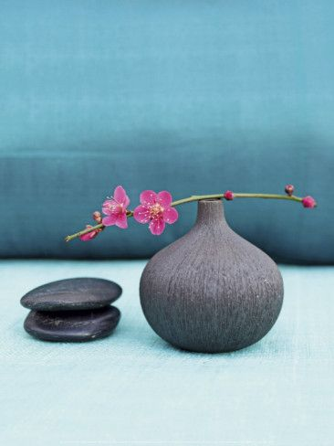 Ikebana Blue Nature