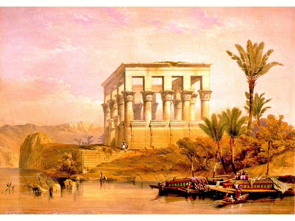 El Templo de Filé, en la Primera Catarata. Desde sus inmediaciones parte, en