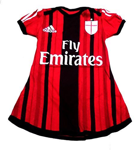 Amazon Com Baby Soccer Clothes Baby Girls Dress 4 8 Months Ac Milan Home Baby Baby Girl Dress Soccer Outfits Clothes