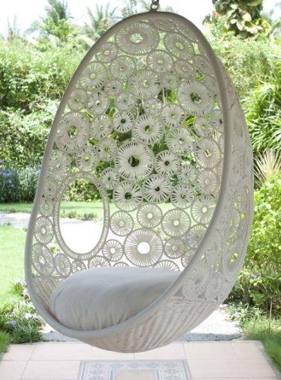 Gartendeko Ideen Mit Hangesessel Und Hangematte Stuhl Schaukel